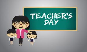 શિક્ષક પ્રત્યે તમારો આદરભાવ વ્યક્ત કરવાનો ખાસ દિવસ એટલે 'શિક્ષક દિન'